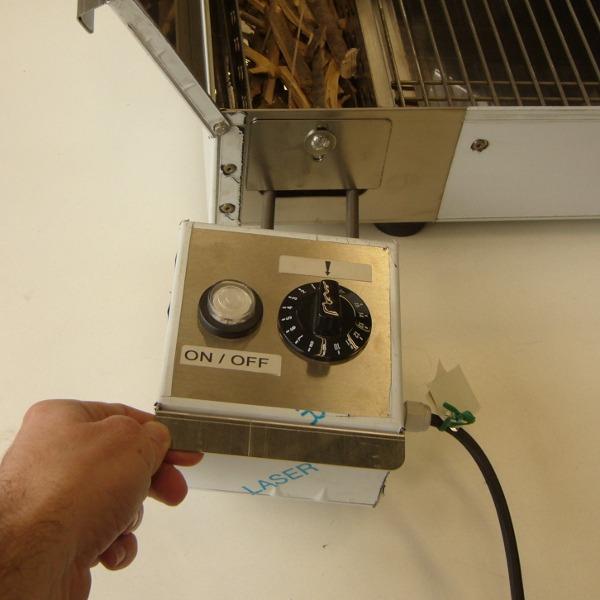 kit elettrico accensione affumicatore