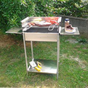 B-Grill – Barbeque in acciaio inox