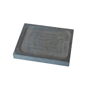 Piatto ollare 20x25x3 con scavo centrale – set da 10 pezzi