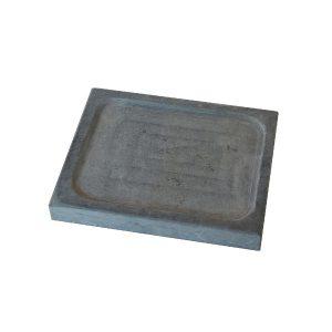 <strong>Piatto ollare </strong> 20x25x3 con scavo centrale – set da 10 pezzi