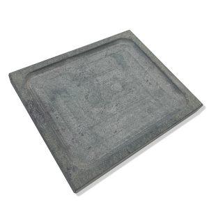 Piatto ollare 25x30x3 con scavo centrale