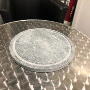 Pietra ollare opaca diametro 30×2