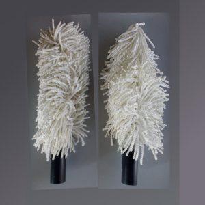Set di 5 spazzole per asciugatore per bicchieri